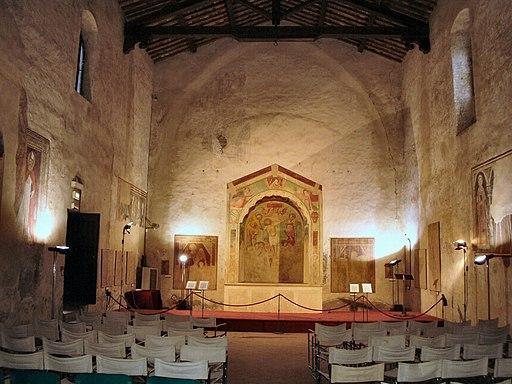 Chiesa dei Santi Tommaso e Prospero, interno
