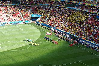 Estádio Nacional Mané Garrincha - Estadio Nacional during Switzerland vs Ecuador