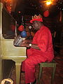 S Roch Tavern Al Johnson BDay King Al.JPG