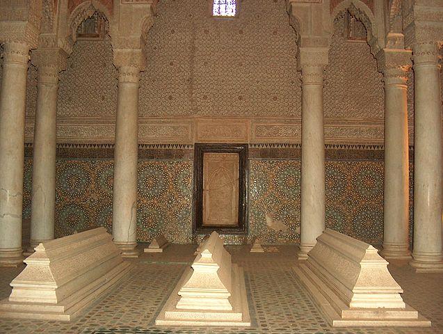 Tumbas Saadíes, en Marrakech