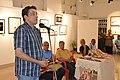 Sabyasachi Chakrabarty Addresses - Group Exhibition Inauguration - PAD - Kolkata 2016-07-29 5295.JPG