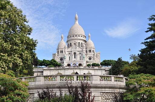 Sacr� Coeur, Paris August 2010 003