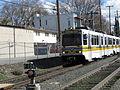 Sacramento Light Rail approaches 16th Street Station.jpg