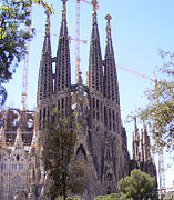 Sacred family' church of Barcelona 1