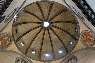 History of Italian Renaissance domes - The Old Sacristy of the Basilica of San Lorenzo, Florence.