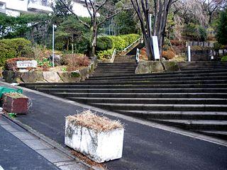 Aobadai town located in Meguro-ku, Tokyo