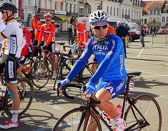 Saint-Amand-les-Eaux - Paris-Roubaix juniors, 12 avril 2015, départ (A56).JPG