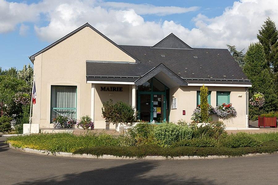 Town hall of Saint-Jean-sur-Erve.