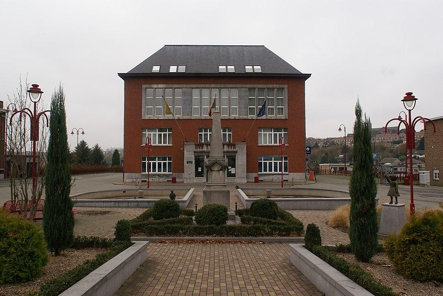 Saint-Nicolas (Liège) (Belgium): Town Hall