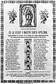 Saint Apollonia prayer sheet. Wellcome M0004897.jpg