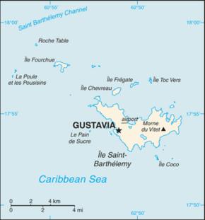 Saint-Barthélemy (Antilles françaises) — Wikipédia