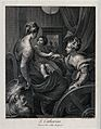 Saint Catherine of Alexandria. Engraving by C. Tinti, 1771, Wellcome V0033432.jpg