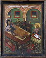 Saint John the Baptist Church Melnik Nativity of Saint John the Baptist Icon 19 Century.jpg