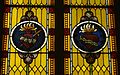 Saint Mary Catholic Church (Philothea, Ohio) - stained glass, Immaculate and Sacred Hearts.jpg