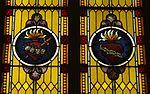 Saint Mary Catholic Church (Philothea, Ohio) - stained glass, Immaculate and Sacred Hearts.jpg