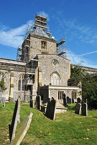 Arundel - Saint Nicholas Churchyard in Arundel