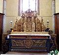 Sainte-Colome, Pyrénées atlantiques, église Saint-Sylvestre, retable du maitre autel IMGP0788.jpg
