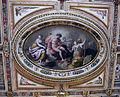 Sala delle muse, soffitto di jacopo zucchi, 5 riquadro centrale 2.JPG