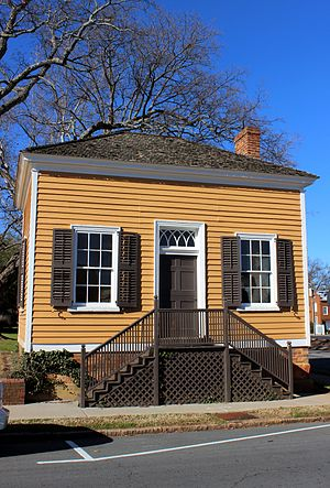 Salisbury, North Carolina - Henderson Law Office, c. 1820