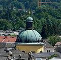 Salzburg Kajetanerkirche Kuppel vom Mönchsberg.jpg