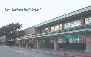 Sam Rayburn High School - Image: Sam Rayburn High School