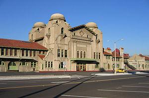San Bernardino Line - The Santa Fe Depot in San Bernardino