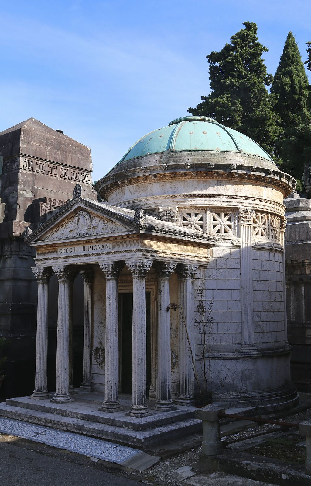 San Miniato al Monte, Cimitero delle Porte Sante