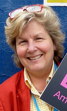Sandi Toksvig - Secret Comedy Podcast - 2013 (9468814916) (cropped).jpg