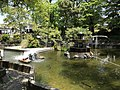 Sansaiike Pond in Nakatsu Castle 2.jpg