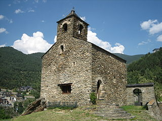 Església de Sant Cristòfol dAnyós