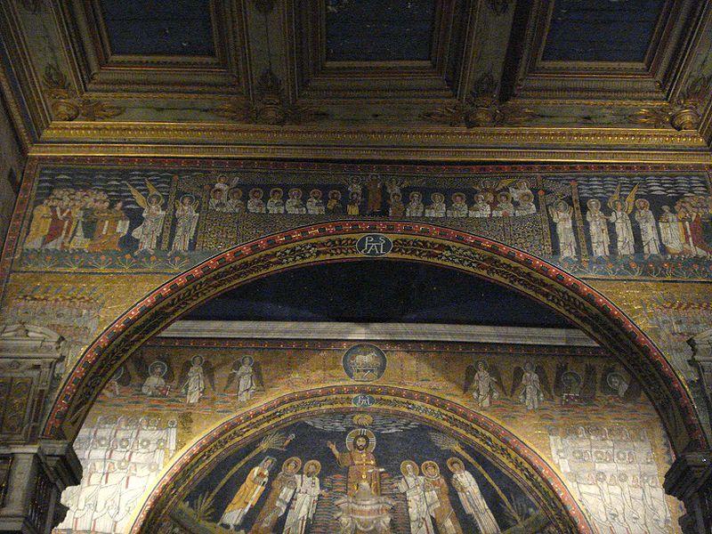 Santa Prassede - apse and triumph archs.jpg