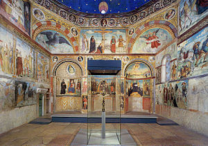 San Salvatore, Brescia - Interior and frescoes Santa Maria in Solario.
