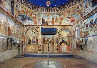 San Salvatore, Brescia - Interior and frescoes Santa Maria in Solario.