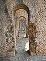 Santuario di Monte Sant'Angelo. Terrazza inferiore. Galleria prospettica 4.JPG