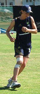 Sarah Elliott (cricketer) Australian womens cricketer