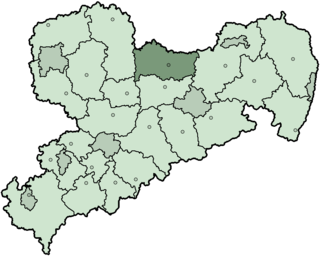 Riesa-Großenhain District in Saxony, Germany