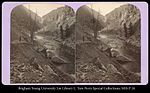 Scene in the Black Canon of the Gunnison, D.& R.G. Ry., Col..jpg