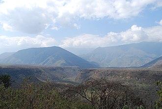 Arroyo Seco, Querétaro - Area between Concá and Arroyo Seco (town)