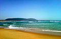Scenic noon view at Bheemili beach.jpg