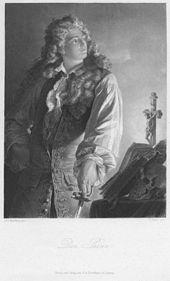 Der Prinz aus dem Geisterseher Stahlstich von Conrad Geyer nach Arthur von Ramberg, um 1859 (Quelle: Wikimedia)
