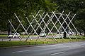 Sculpture Avenue K Kenneth Snelson Leibnizufer Hanover Germany 02.jpg