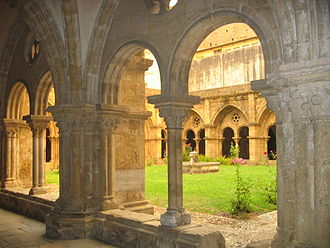 Old Cathedral of Coimbra - Cloister.