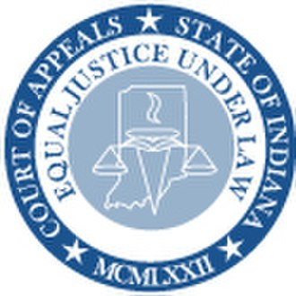 Seal of Indiana - Image: Seal of the Court of Appeals of Indiana