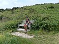 Seat at Porth Hellick, St Mary's, Scilly - geograph.org.uk - 1607571.jpg