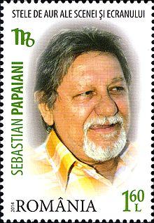 Sebatian Papaiani 2014 Romania stamp.jpg