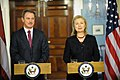 Secretary Clinton Holds a Joint Press Conference With Latvian Foreign Minister Kristovskis (5469503925).jpg