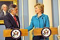 Secretary Clinton With Portuguese Foreign Minister Luis Amado at the U.S. Department of State in Washington, DC June 5, 2009 02.jpg
