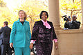 Secretary Clinton meets with SA Minister Maite Nkoana-Mashabane.jpg