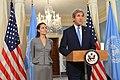 Secretary Kerry and UNHCR Special Envoy Jolie Pitt Address the Press (27729399041).jpg