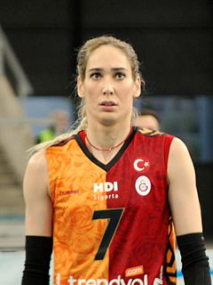 Seda Tokatlıoğlu Turkish volleyball player